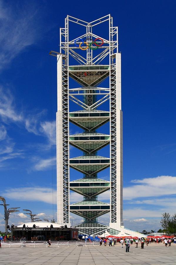 奥运公园玲珑塔
