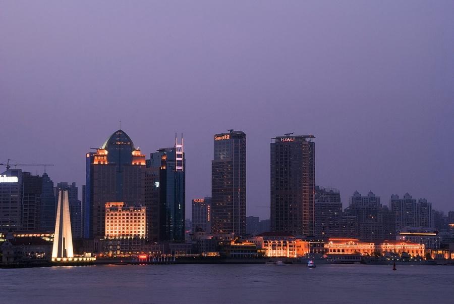 上海地标建筑简笔画 上海地标30景