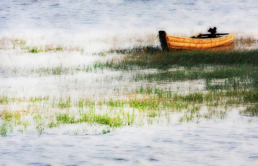 小舟—大众摄影网图片