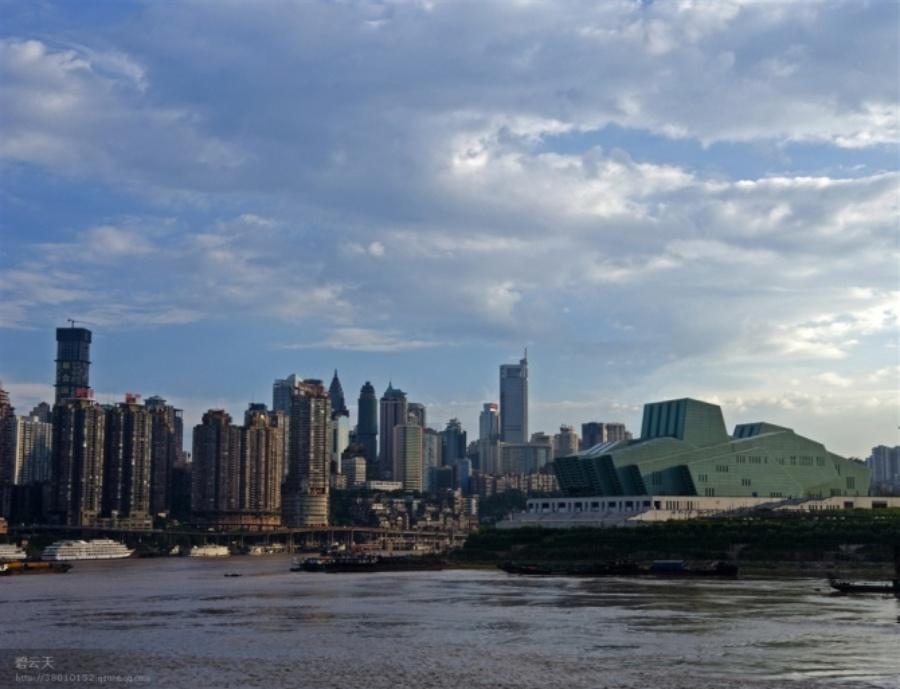 重庆朝天门的风景