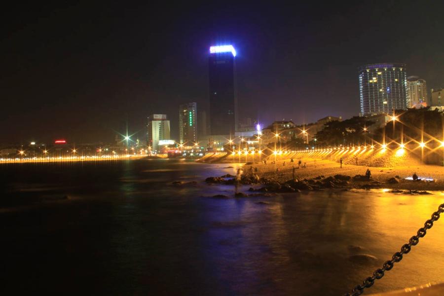 青岛-栈桥夜景