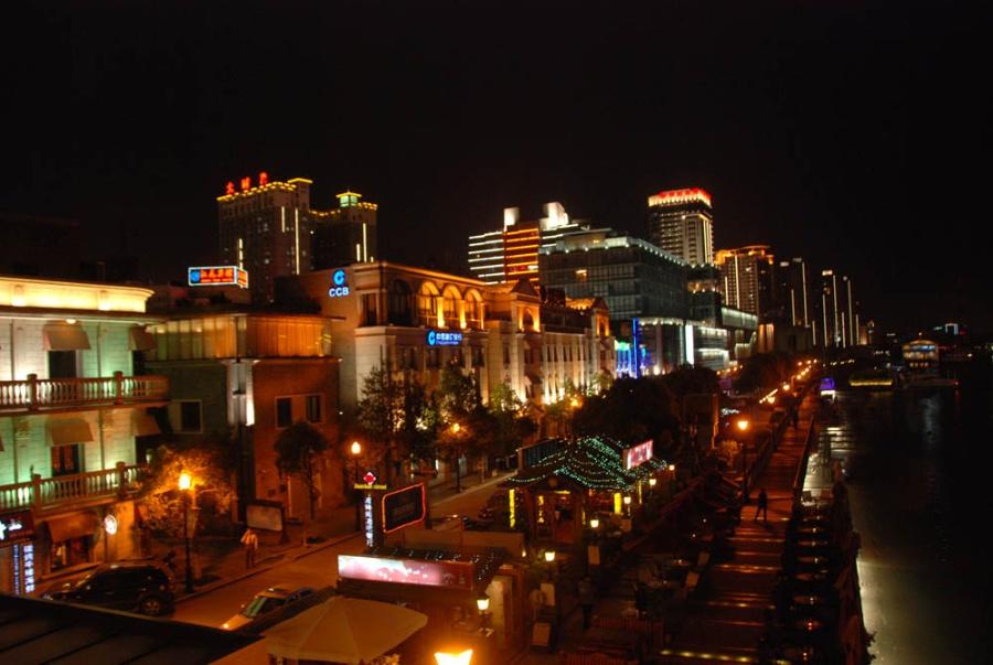 宁波老外滩图片_宁波老外滩夜景摄影图